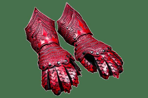 Fantasy Gauntlet Pattern - Leather Armor Pattern