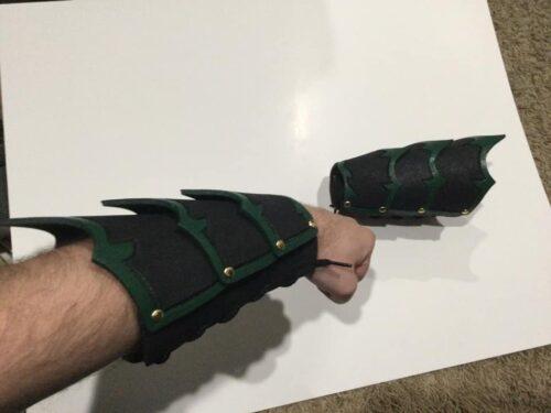 Fantasy Bracers Pattern photo review