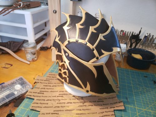 Fantasy Helmet Pattern photo review
