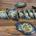 Leather Armor Fantasy Spaulders Pattern