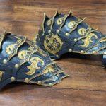 Fantasy Spaulders - Leather Armor